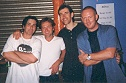 Steve, Geoff, Colin, Ferg at Dingwalls